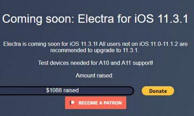 electra 11 3 1 featured 400x240 - Jailbreak iOS 11.3.1: Những thông tin cần biết