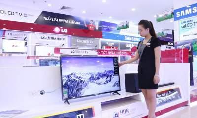 mua TV 400x240 - Hơn 40 chiếc tivi được bán giảm giá 50% mùa World Cup