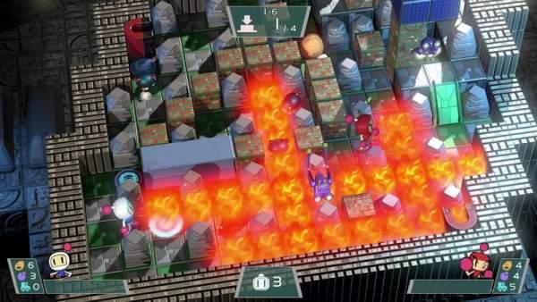 """super bomberman r screenshot 1 600x338 - Đánh giá Super Bomberman R - """"thánh quăng bom"""" tái xuất"""