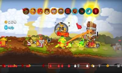 swords and soldiers featured 400x240 - Đang miễn phí game thủ thành cực hay Swords & Soldiers HD trị giá 120.000đ