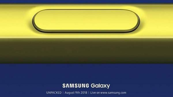thu moi galaxy note 9 1 15301226759191906881565 600x338 - Samsung Note 9 chính thức trình làng ngày 9/8