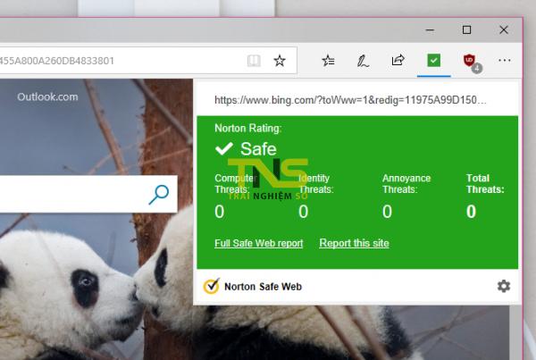 2018 07 06 14 43 12 600x403 - An toàn lướt web trên Microsoft Edge với Norton Safe Web