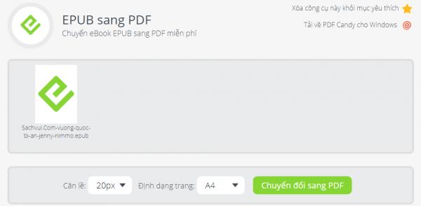 PDFCandy: Tiện ích chỉnh sửa PDF trực tuyến và trên Windows miễn phí 8