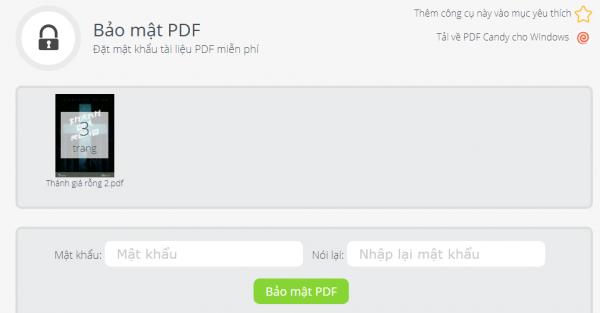 PDFCandy: Tiện ích chỉnh sửa PDF trực tuyến và trên Windows miễn phí 13