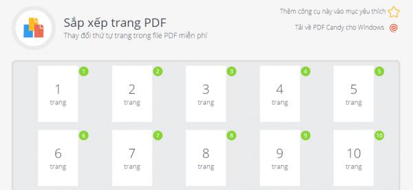 PDFCandy: Tiện ích chỉnh sửa PDF trực tuyến và trên Windows miễn phí 16
