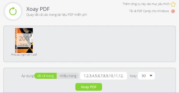PDFCandy: Tiện ích chỉnh sửa PDF trực tuyến và trên Windows miễn phí 17