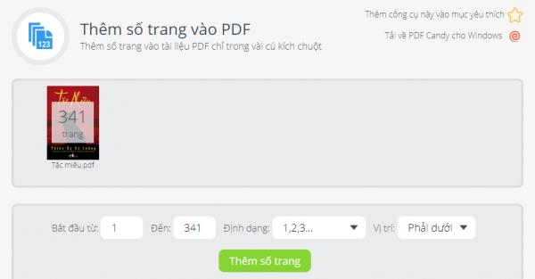 PDFCandy: Tiện ích chỉnh sửa PDF trực tuyến và trên Windows miễn phí 20