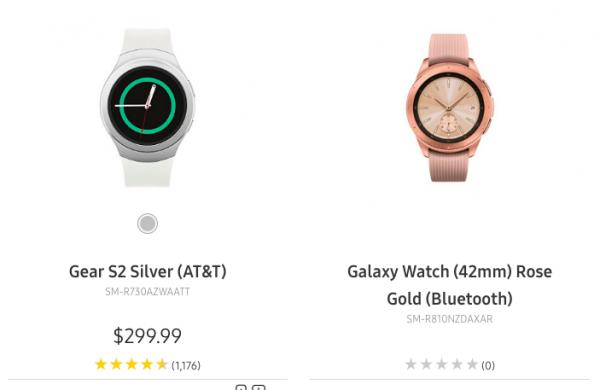 Galaxy Watch lộ hình ảnh màu hồng, kiểu dáng dây kim loại nữ tính 1