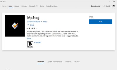 MP3tag 400x240 - Phần mềm MP3tag đã có mặt trên Microsoft Store