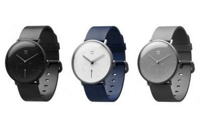 Mijia Quartz 400x240 - Xiaomi Mijia Quartz: smartwatch lai giá 52 USD