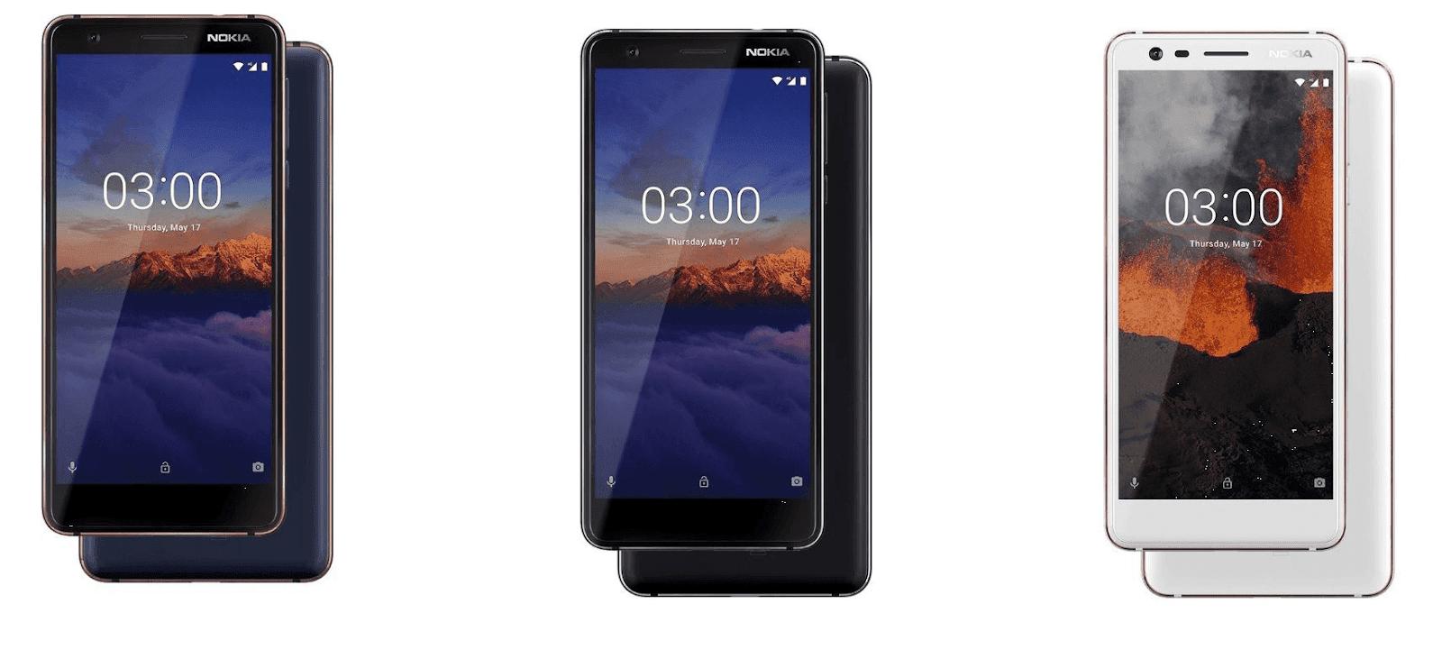 Nokia 3 1 - Nokia 2.1 và 3.1 – bản nâng cấp của Nokia 2 và 3 ra mắt
