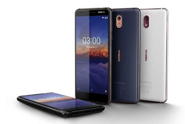 Nokia 3.1 600x401 - Nokia 2.1 và 3.1 – bản nâng cấp của Nokia 2 và 3 ra mắt