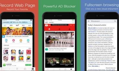 RBrowser 400x240 - RBrowser - Recorder Browser: Trình duyệt iOS có khả năng quay video màn hình