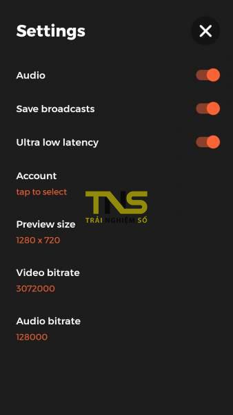 Screenshot 20180705 102624 338x600 - Cách tạo video live stream cực nhanh lên YouTube từ Android