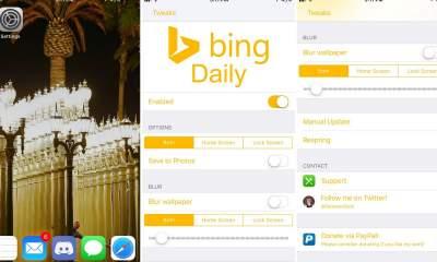bingdaily featured 400x240 - BingDaily - Tự thay ảnh nền mỗi ngày trên iPhone đã jailbreak