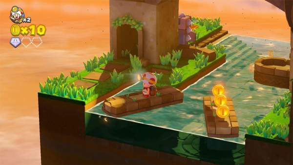 captain toad treasure tracker screenshot 1 600x338 - Đánh giá game Captain Toad: Treasure Tracker