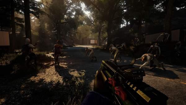 earthfall screenshot 1 600x338 - Đánh giá game Earthfall - Left 4 Dead chủ đề người ngoài hành tinh