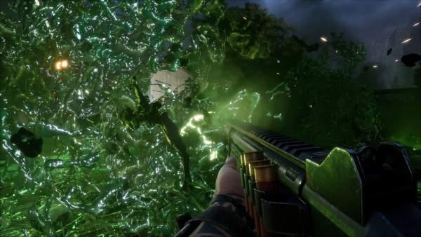earthfall screenshot 2 600x338 - Đánh giá game Earthfall - Left 4 Dead chủ đề người ngoài hành tinh