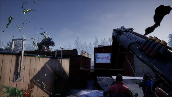 earthfall screenshot 3 600x338 - Đánh giá game Earthfall - Left 4 Dead chủ đề người ngoài hành tinh