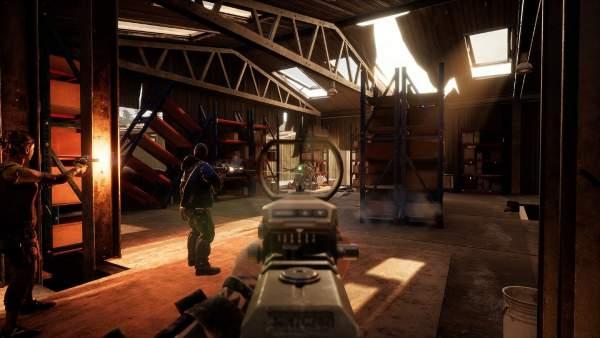earthfall screenshot 4 600x338 - Đánh giá game Earthfall - Left 4 Dead chủ đề người ngoài hành tinh