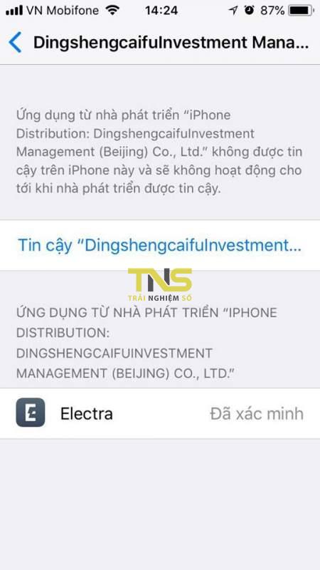 electra multipath 3 450x800 - Cách jailbreak iOS 11.3.1 bằng phiên bản Electra multipath (Dev account)