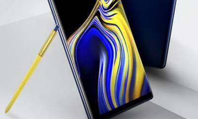 galaxy note 9 s pen 1 400x240 - Lộ ảnh Galaxy Note 9 với bút S Pen màu vàng
