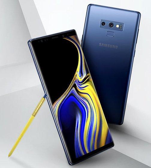 galaxy note 9 s pen - Lộ ảnh Galaxy Note 9 với bút S Pen màu vàng