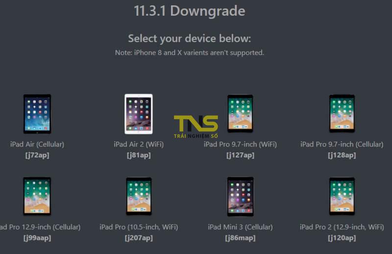 ios downgrade 1 800x518 - Cách hạ cấp các thiết bị iOS 11.3.1 sau khi Apple đã khoá sign