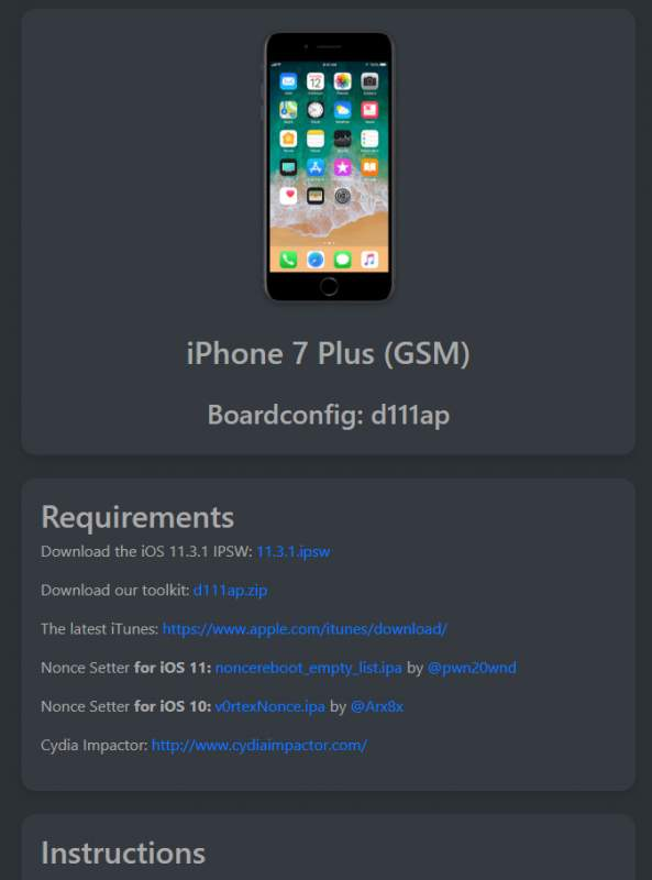ios downgrade 2 593x800 - Cách hạ cấp các thiết bị iOS 11.3.1 sau khi Apple đã khoá sign
