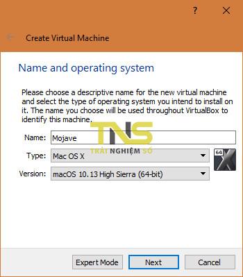 mojave virtualbox 1 - Cách cài macOS Mojave lên máy ảo trên Windows 10