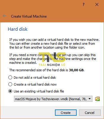 mojave virtualbox 3 - Cách cài macOS Mojave lên máy ảo trên Windows 10