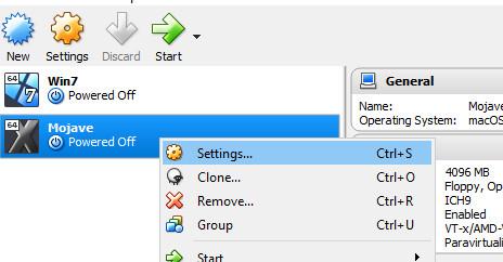 mojave virtualbox 4 - Cách cài macOS Mojave lên máy ảo trên Windows 10