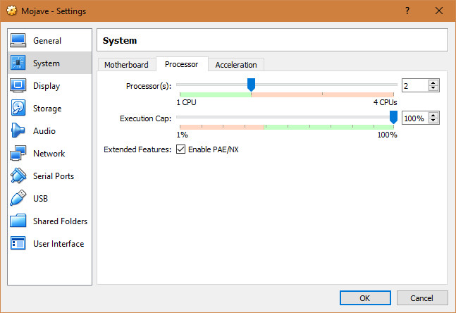 mojave virtualbox 6 - Cách cài macOS Mojave lên máy ảo trên Windows 10