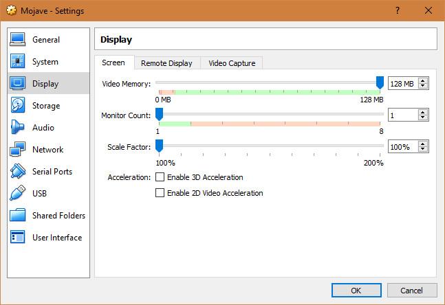 mojave virtualbox 7 - Cách cài macOS Mojave lên máy ảo trên Windows 10