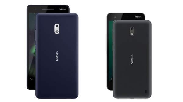 nokia2 new old 600x334 - Nokia 2.1 và 3.1 – bản nâng cấp của Nokia 2 và 3 ra mắt