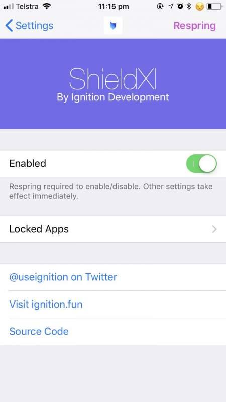 shieldxi 1 450x800 - ShieldXI - tweak khoá ứng dụng cho iPhone miễn phí cho iOS 12