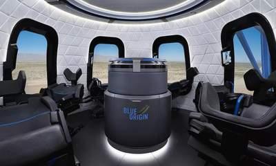 tau New Shepard 400x240 - 200 ngàn USD cho 1 suất bay vào vũ trụ