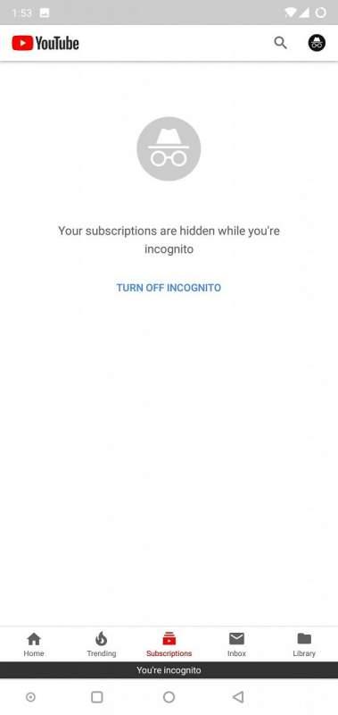 youtube incognito 3 379x800 - YouTube bổ sung tính năng xem video ẩn danh trên Android