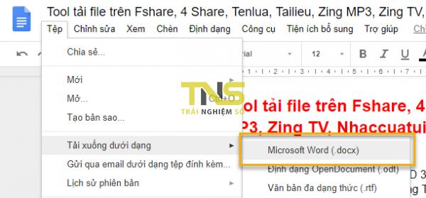 5 cách trích xuất hình ảnh trên Google Tài liệu 7