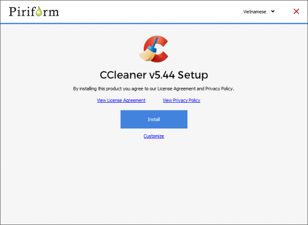 """2018 08 04 15 17 04 600x438 - Khắc phục lỗi""""The production is not permitted for use in your current location"""" trên CCleaner"""