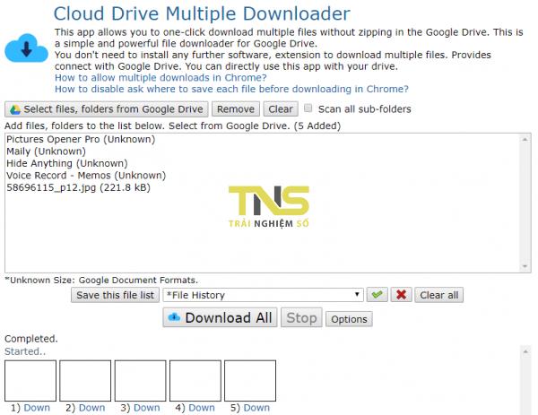 Cách tải nhiều file trên Google Drive mà không bị nén? 6