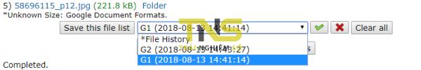 Cách tải nhiều file trên Google Drive mà không bị nén? 4