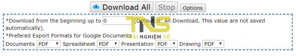Cách tải nhiều file trên Google Drive mà không bị nén? 5