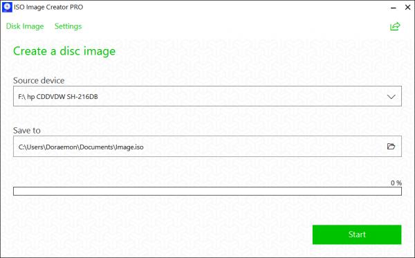 ISO Image Creator PRO: Tạo ISO cho đĩa DVD trên Windows 10 cực dễ