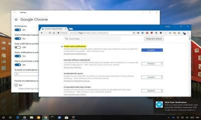 Bật thông báo Chrome 68 400x240 - Cách hiển thị thông báo Chrome bằng Action Center của Windows 10