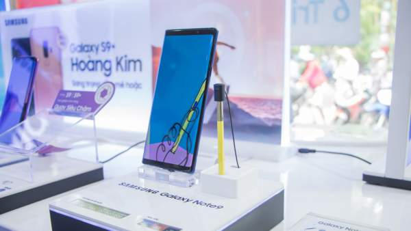 Note 9 600x338 - Đặt mua Galaxy Note9, nhận quà 11 triệu đồng