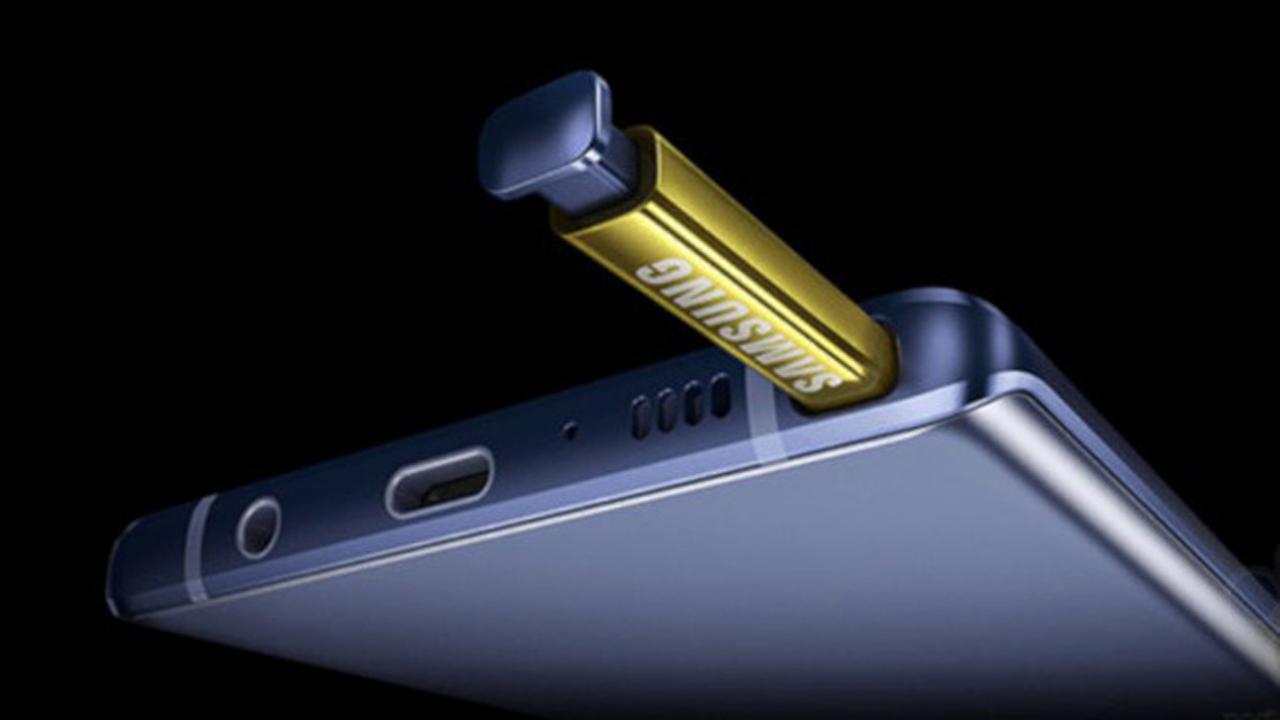 Note 9 thumb - Galaxy Note 9 lộ hình ảnh, giá bán trước giờ G