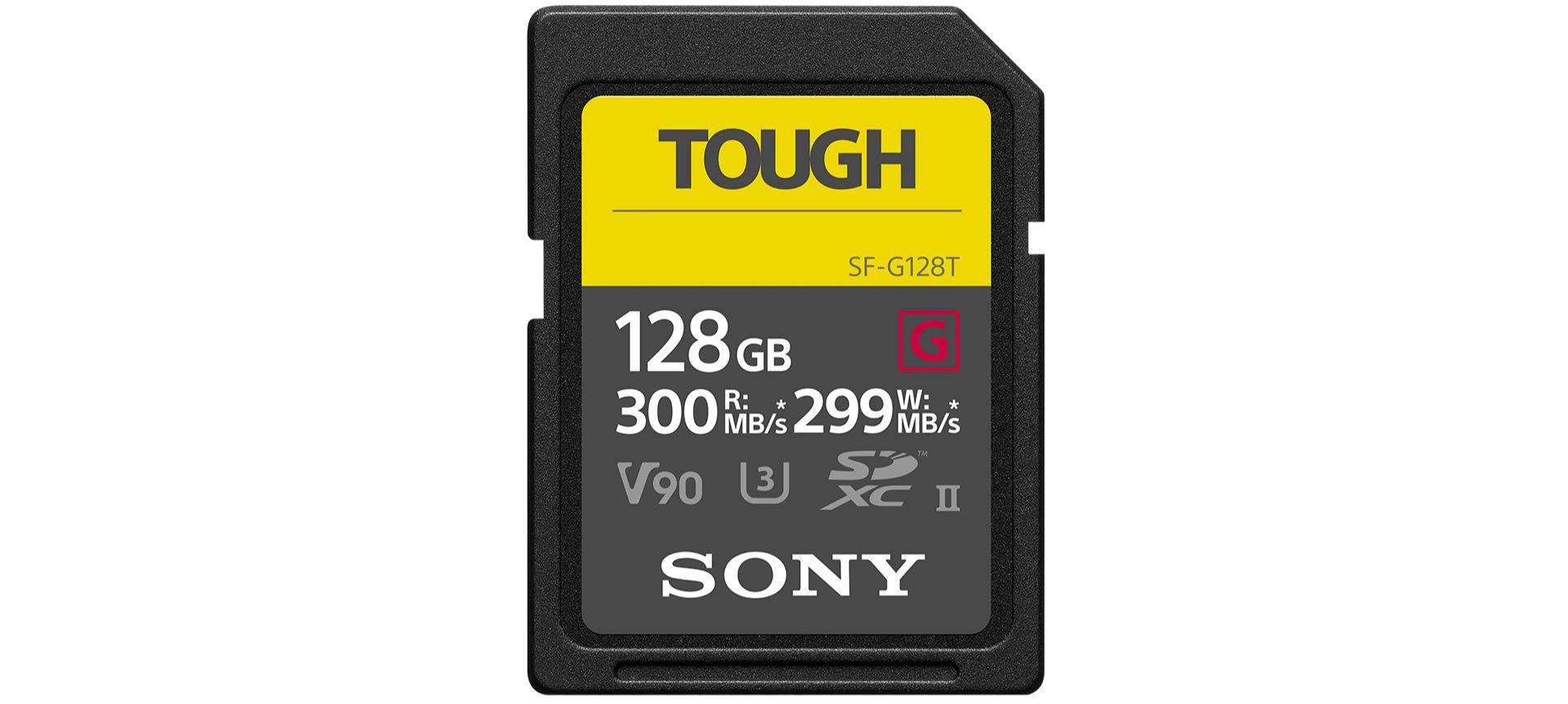 Sony giới thiệu loạt thẻ nhớ SD UHS-II TOUGH với độ bền cao