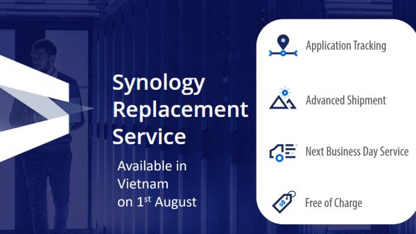 Synology ra mắt Dịch vụ đổi sản phẩm tại Đông Nam Á 1