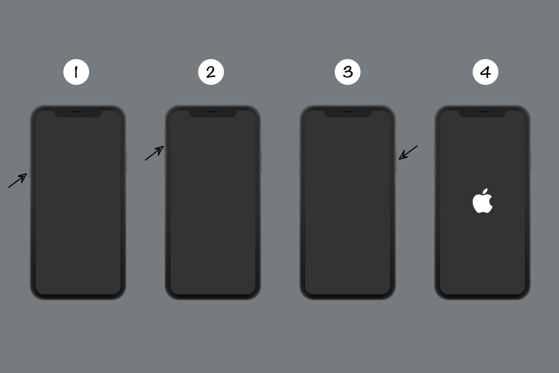 Làm thế nào để khởi động lại các thiết bị iPhone/iPad